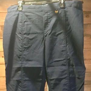 Ellen Tracey XXL Pants - Navy Blue